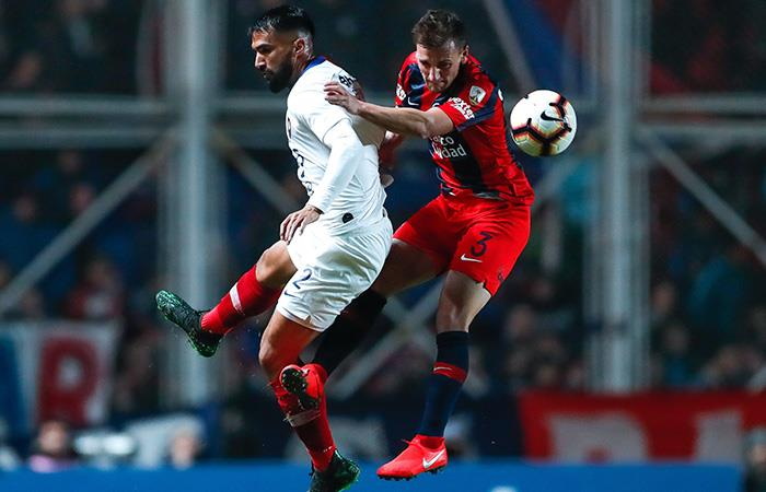 San Lorenzo y Cerro empataron sin goles en la ida. Foto: EFE