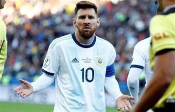 Tres meses de suspensión para Messi