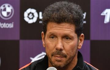 """Simeone: """"En el Atlético nunca dejamos de sufrir"""""""