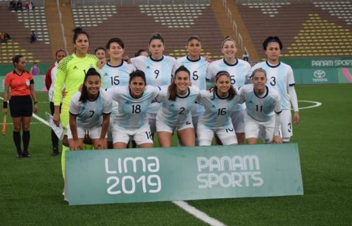 Las chicas argentinas está en la definición de Lima 2019. (Foto: EFE)