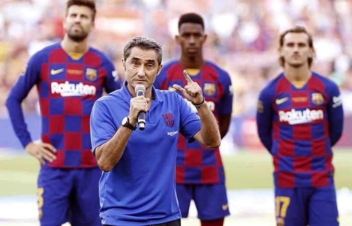 El Culé debutará ante Athletic. Foto: EFE