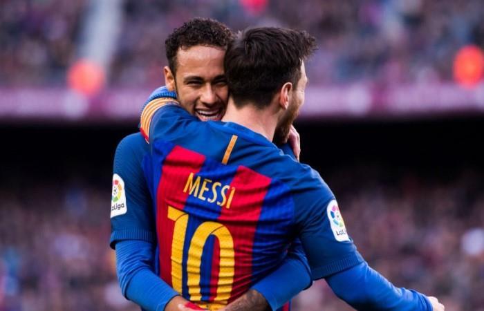 Messi pidió por Neymar. (Foto: EFE)
