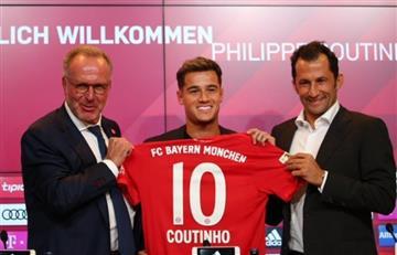 Coutinho, nuevo jugador del Bayern