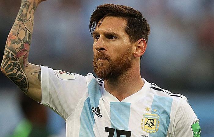 Lionel Messi, considerado como el mejor jugador del mundo.