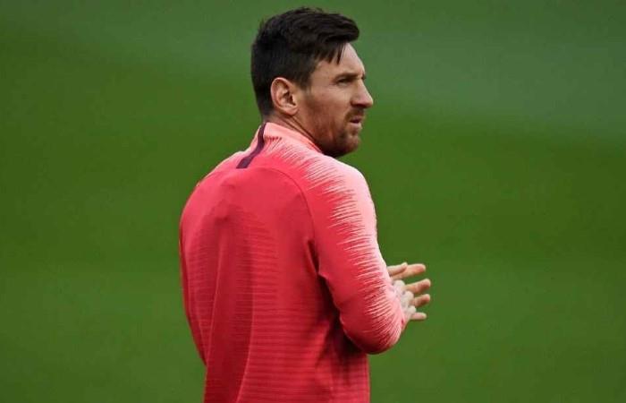Messi volvería el 14 de septiembre ante Valencia. Foto: EFE