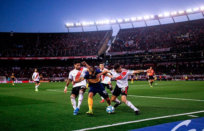 Boca y River igualaron sin goles y San Lorenzo aprovechó para ser el único puntero (Foto: EFE).