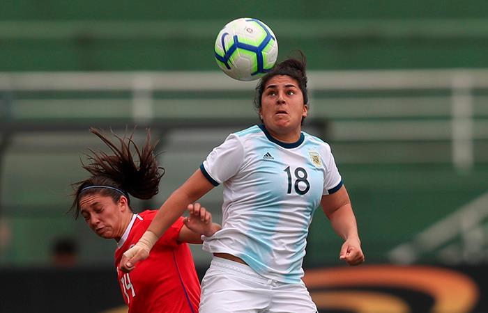 La selección Argentina podría jugar como local el próximo mundial femenino (Foto: EFE).