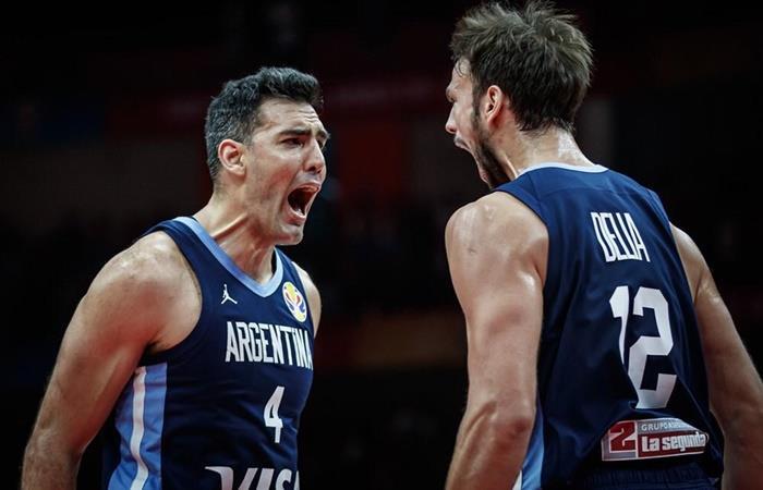 Argentina derrotó a Rusia por 69 a 61. Foto: Twitter