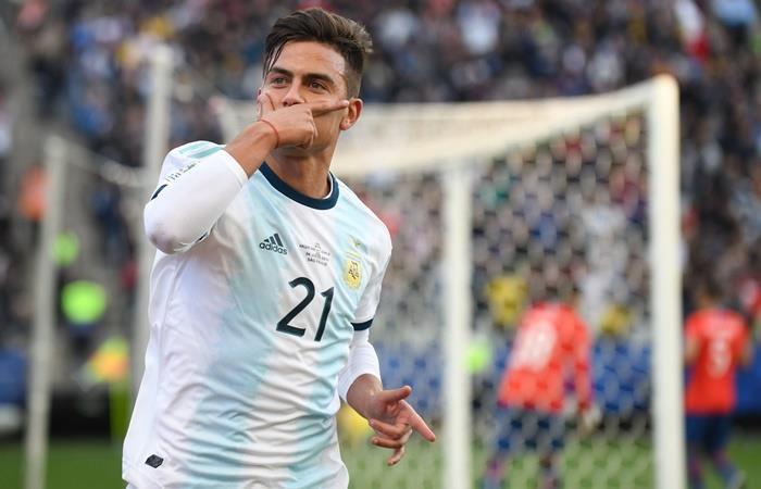 Argentina vuelve a enfretar a Chile tras la Copa América. Foto: Twitter