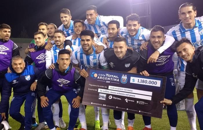 Atlético Tucumán eliminó a Boca Unidos y jugará ante Colón en octavos. Foto: Twitter Copa Argentina