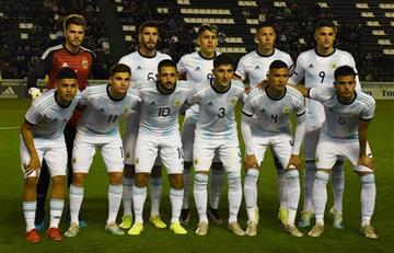 Gana, gusta y golea: la Selección Sub 23 derrotó a Bolivia