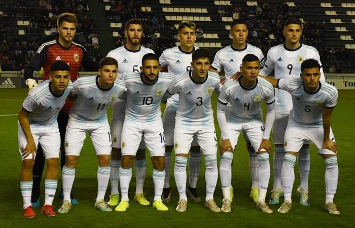 Sub 23: Argentina derrotó 5 a 0 a Bolivia. Foto: Twitter Argentina