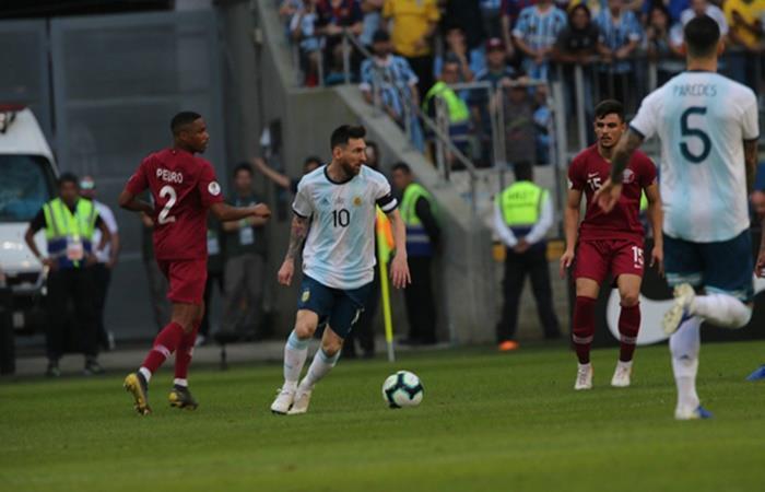 Argentina decidió no usar dos números emblematicos. Foto: Twitter Argentina