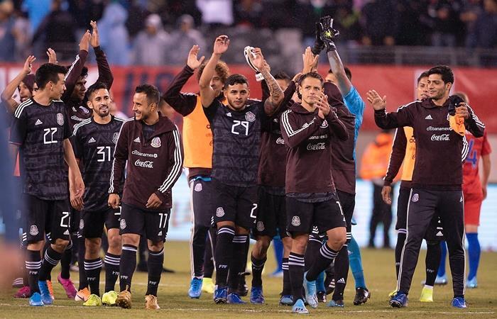 Mexico venció 3 a 0 a Estados Unidos. Foto: Twitter Mexico