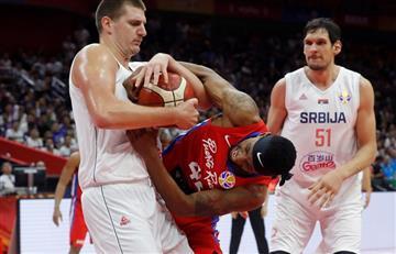 Video: jugador serbio se puso violento y fue expulsado