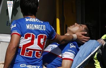 Escalofriante lesión de Francisco Silva, ex jugador de Independiente