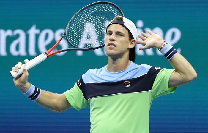 Diego Schwartzman es la mejor raqueta argentina en el Ranking ATP. Foto: EFE