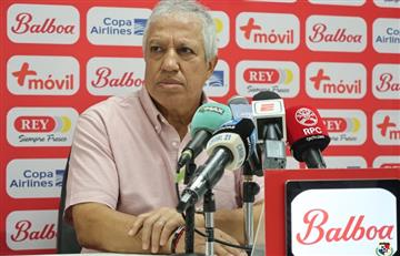 """La desafiante conferencia de prensa del """"Tolo"""" Gallego en Panamá"""