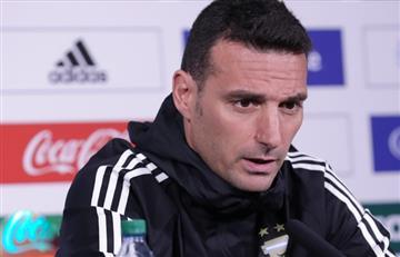 Lionel Scaloni no confirmó el equipo de Argentina