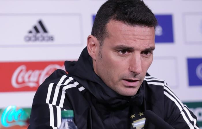 Lionel Scaloni no confirmó la Selección Argentina. Foto: Twitter Argentina