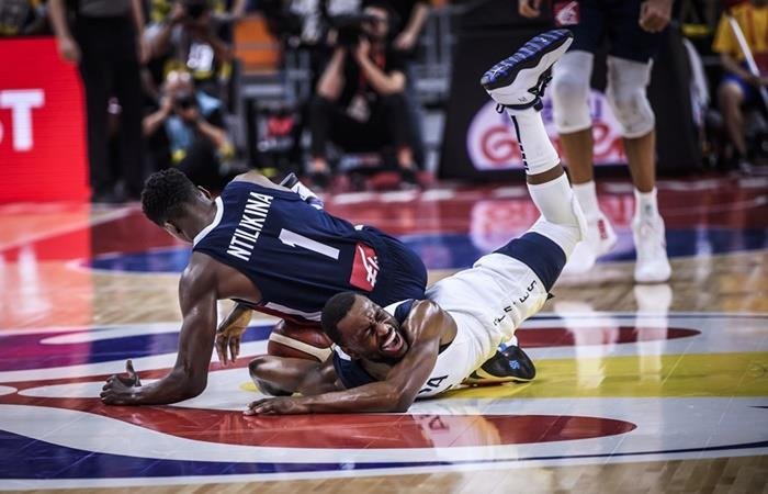 Francia derrotó a Estados Unidos en cuartos ante Francia. Foto: EFE