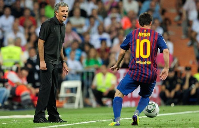 Mourinho reconoció que Messi lo hizo mejor entrenador. Foto: Twitter