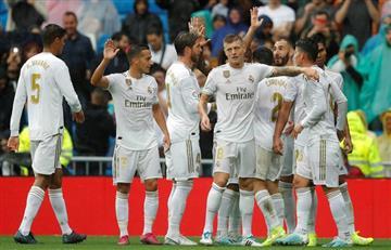 Real Madrid sufrió ante Levante pero se quedó con el triunfo