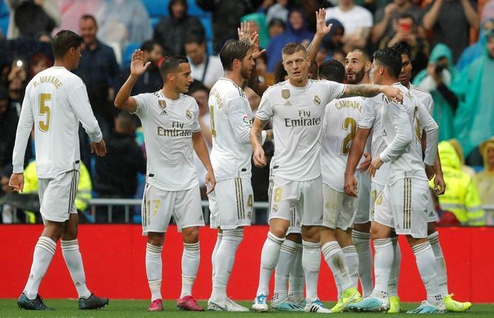 Real Madrid volvió al triunfo en el Bernabeú. Foto: EFE