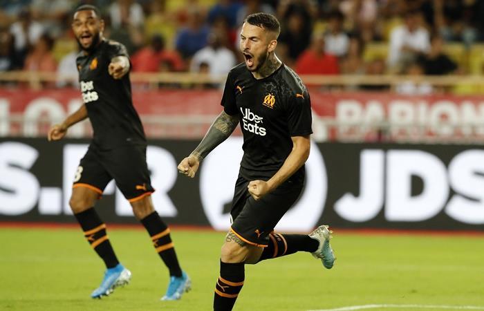Darío Benedetto anotó un doblete ante Mónaco. Foto: EFE