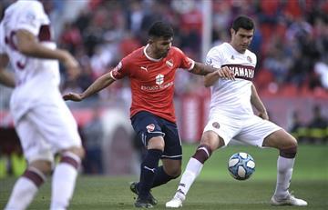 Independiente desperdició dos goles de ventaja y empató con Lanús