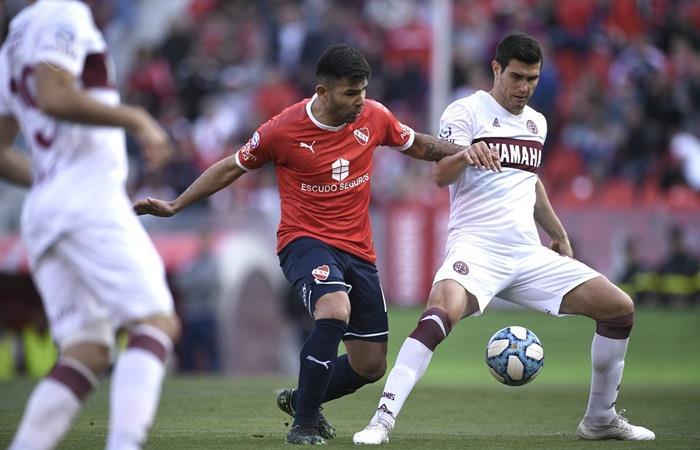 Independiente igualó 2 a 2 con Lanús en Avellaneda. Foto: Twitter Independiente