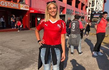 El homenaje de Independiente a Delfina Pignatiello