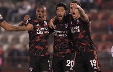 River goleó a Huracán como visitante y se prende en la Superliga