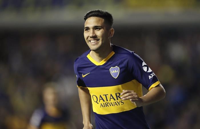 Boca ganó 1 a 0 con gol de Reynoso y es uúnico líder de la Superliga. Foto: Twitter Boca
