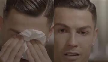 El llanto de Cristiano Ronaldo al recordar a su padre fallecido