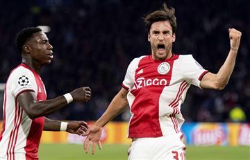 Con gol de tagliafico el Ajax se impuso 3-0 ante Lille