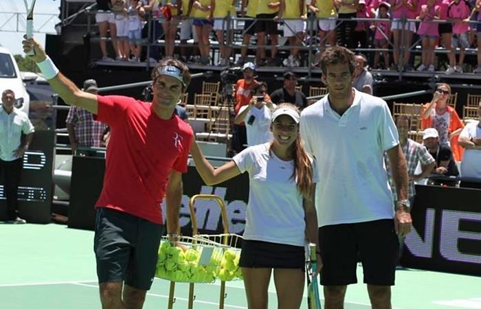 Juan Martín Del Potro confirmó que volverá a jugar en Argentina y su rival será Roger Federer ¦Foto: Twitter @goitiatenis