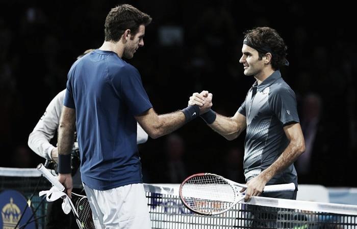 Federer vs Del Potro costará un mínimo de 6.000 pesos. Foto: Twitter