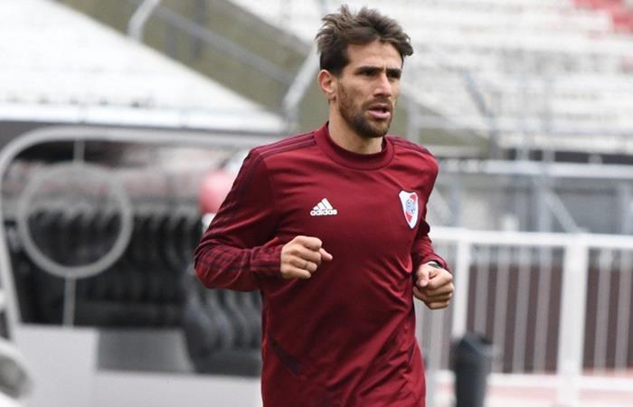 Leo Ponzio podría volver ante Gimnasia, el 28 de septiembre. Foto: Twitter River Plate