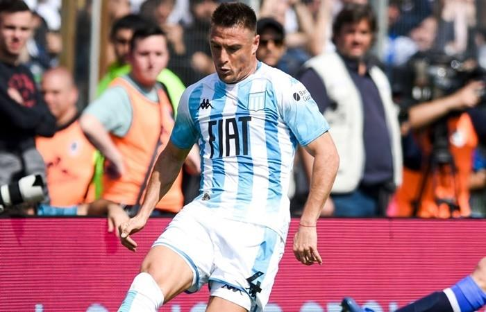 Iván Pillud criticó el estilo de juego de Boca ante River. Foto: Twitter Racing