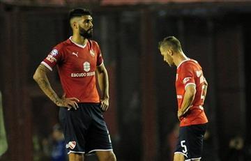 Alexander Barboza dejará la titularidad en Independiente tras los insultos