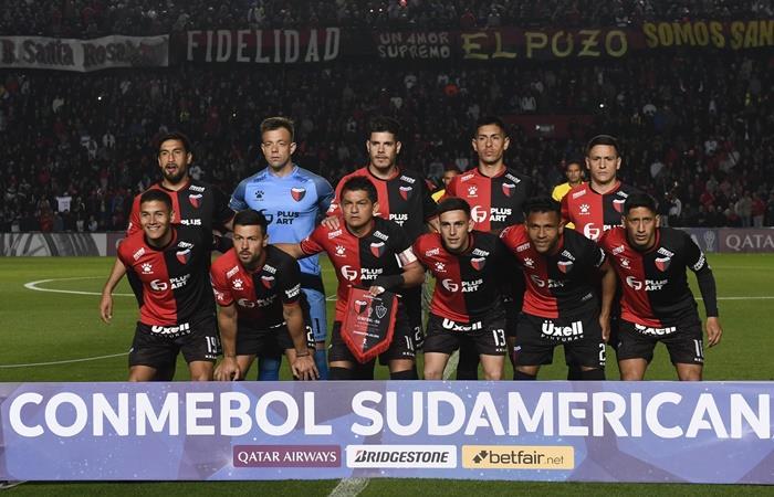Colón le ganó a Atlético Mineiro en la ida de la Copa Sudamericana. Foto: Twitter