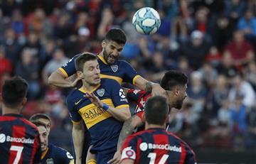 Boca le ganó 2 a 0 a San Lorenzo y es el líder de la Superliga