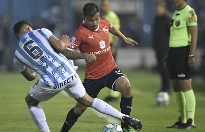 Independiente le ganó a Atlético Tucumán con lo justo. Foto: Twitter
