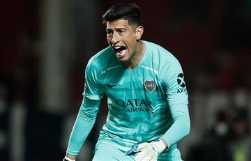 Preocupación en Boca por la lesión de Esteban Andrada