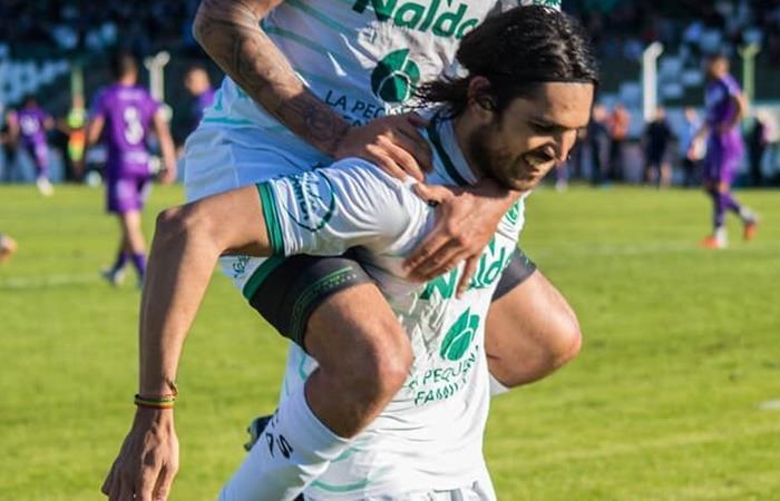 Sarmiento quiere la punta de la Zona B de la Primera Nacional. Foto: Twitter Sarmiento