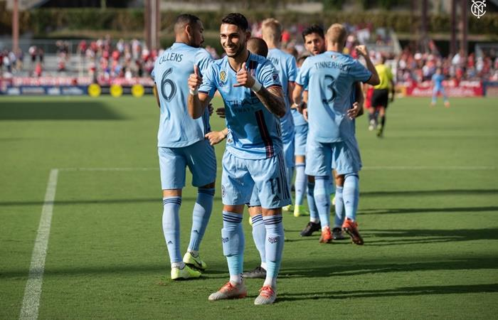 Valentin Castellanos, la sorpresa argentina en la MLS. Foto: Twitter NYCFC