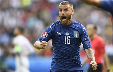 Daniele de Rossi, a un paso de volver a jugar con Italia