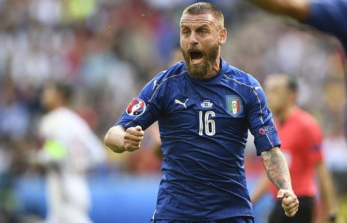 Daniele De Rossi integra la lista de preselección de Italia. Foto: Twitter Azzurri