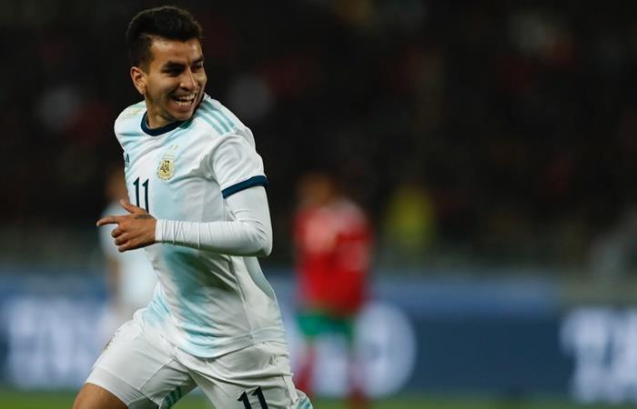 Ángel Correa vuelve a la Selección Argentina. Foto: Twitter Ángel Correa